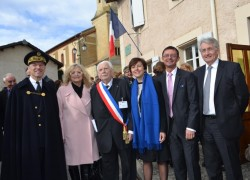 Commémoration de l'armistice de 1918 à Saint André