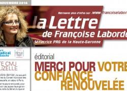 N°13 - novembre 2014 - news F. Laborde