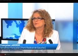 Interview Journal de TV5 Monde sur la lutte contre la promotion du djihadisme sur les réseaux sociaux