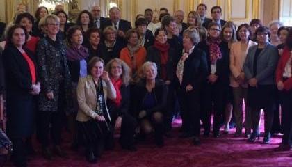 Journée internationale des droits des femmes 2016 - Les MOF au Sénat