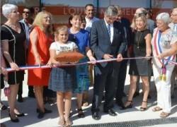 Inauguration du groupe scolaire Louise Michel d'Aussonne