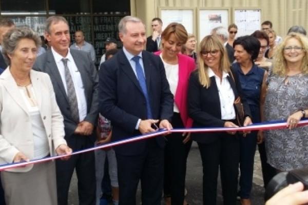 Inauguration de l'école maternelle Niboul à Toulouse