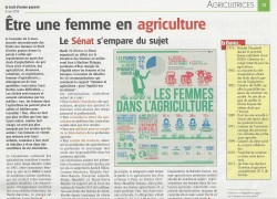 Débat sur les femmes agricultrices