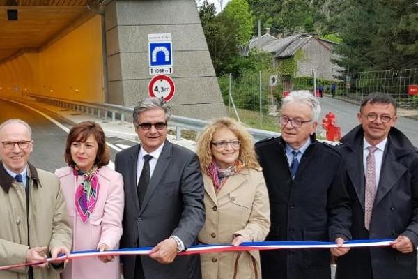 Inauguration de la déviation pour la commune de Saint-Béat