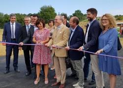 Inauguration de l'exploitation agricole du lycée agricole du Comminges