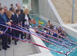Inauguration du bassin nordique du Muretain Agglo