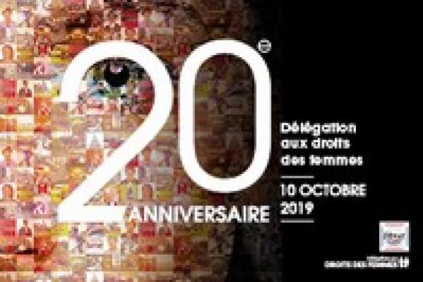 20e anniversaire de la Délégation aux Droits des Femmes au Sénat