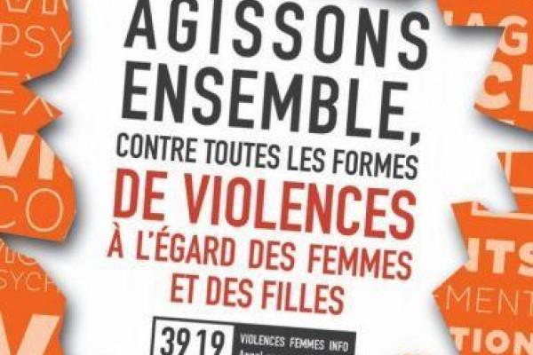Tribune contre les violences faites aux femmes