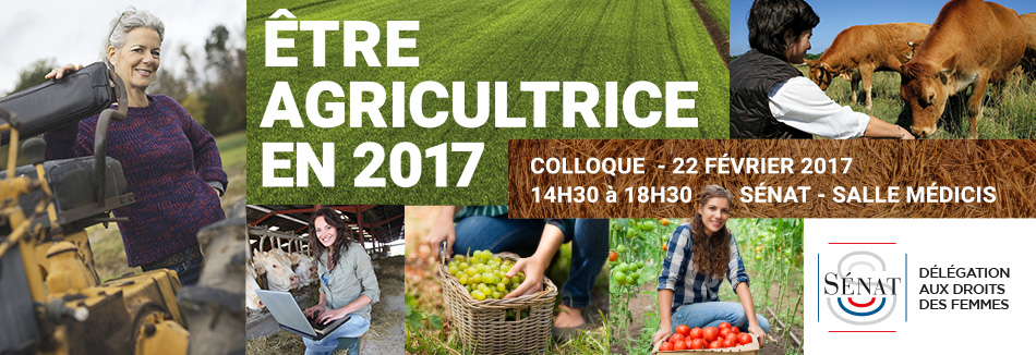 Etre agricultrice en 2017