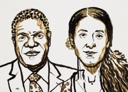 2 prix Nobel de la paix 2018 contre les violences sexuelles faites aux femmes